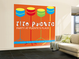 Tito Puente, Party at Puente's Place Wall Mural – Large