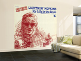 Lightnin' Hopkins - My Life in the Blues Wall Mural – Large