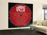Swingville Sampler Wall Mural – Large