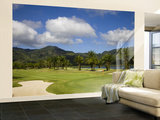 Thailand, Phuket, Loch Palm Golf Course Wall Mural – Large by Steve Vidler