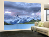 Switzerland, Bernese Oberland, Grindelwald, First, Bachalpsee and Mt Schreckhorn Wall Mural – Large by Michele Falzone