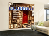The Bluesville Years: Vol 1: Big Blues Honks and Wails Wall Mural – Large