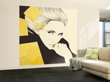 Gold Wall Mural – Large by Manuel Rebollo