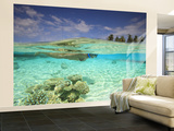South Huvadhoo Atoll, Southern Maldives, Indian Ocean Reproduction murale (géante) par Stuart Westmorland