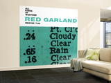 Red Garland - All Kinds of Weather Wall Mural – Large
