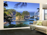 Seastacks, Makah Nation Tribal Lands, Cape Flattery, Washington, USA Wall Mural – Large por Jamie & Judy Wild