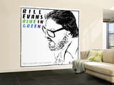 Bill Evans - Blue in Green Wall Mural – Large