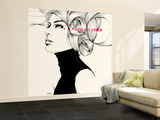 All the sky I need Wall Mural – Large by Manuel Rebollo