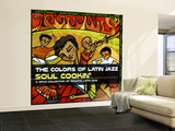 The Colors of Latin Jazz: Soul Cookin' Wall Mural – Large