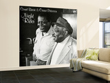 Count Basie and Oscar Peterson - Night Rider Wall Mural – Large
