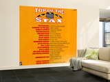 Top of the Stax Wall Mural – Large