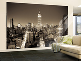 Usa, New York, Manhattan, Midtown, Empire State Building Wall Mural – Large by Alan Copson