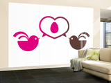 Parents Wall Mural – Large by  Avalisa