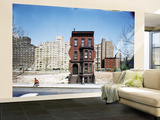 Construction in NYC: Land Being Cleared For 20 Story Building in East 60s Wall Mural – Large by Dmitri Kessel