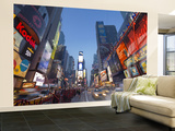 Manhattan Times Square, New York City, USA Wall Mural – Large by Alan Copson