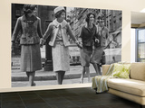 Suits Designed by Chanel Wall Mural – Large by Paul Schutzer