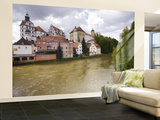 Castle and Danube River Wall Mural – Large by Aldo Pavan