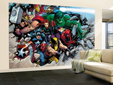 Son of Marvel Reading Chronology Cover: Thor Wall Mural  Large by John Romita Jr.