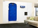 Blue Door in Old Town Fototapete – groß von Pamela Valente