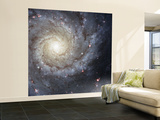 Spiral Galaxy Messier 74 Wall Mural – Large