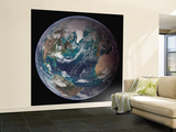 Planet Earth Eastern Hemisphere, NASA Satellite Composite Wall Mural – Large