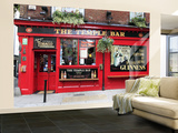 The Temple Bar Pub in Temple Bar Area Wall Mural – Large by Eoin Clarke