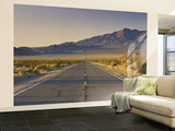Avawatz Mountains over Silurian Valley in Mojave Desert from Highway 127 Wall Mural – Large by Witold Skrypczak