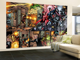 Giant-Size Avengers No.1 Group: Captain America, Scarlet Witch and Vision Wall Mural – Large by Nelson Decastro
