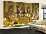 Trevi Fountain Wall Mural – Large by Richard l'Anson