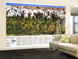 1988 High Himalaya Map Wall Mural – Large by  National Geographic Maps