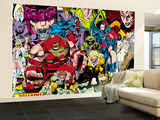 X-Men 1 Pin-up Group: A Villains Gallery Wall Mural  Large by Jim Lee
