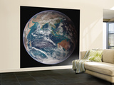 Planet Earth Western Hemisphere, NASA Satellite Composite Wall Mural – Large