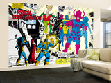 Infinity Gauntlet 5 Group: Thanos Wall Mural  Large by George Perez