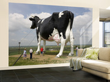 World's Largest Holstein Cow Wall Mural – Large by Richard Cummins