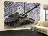 Mock Aggressors from Republic of Korea Marine Corps Prepare their Tank Wall Mural – Large
