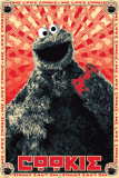 Sesame Street-Cookie Monster Icon Poster