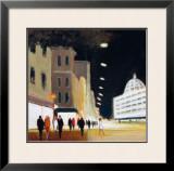 Late Shoppers, Harrods Art by Jon Barker