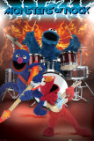 Sesame Street-Monsters of Rock Print