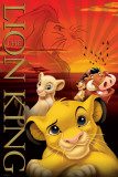 The Lion King-Metallic Foto