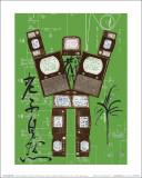 Evolution, Revolution, Resolution 1989 (Rousseau) Affiches par Nam June Paik