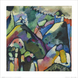 Improvisation 9, 1910 Affiche par Wassily Kandinsky