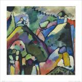 Improvisación 9, 1910 Lámina por Wassily Kandinsky