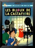 Les Bijoux de la Castafiore, c.1963 Plakater af Hergé (Georges Rémi)