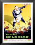 Vermouth Melchior Affiche par  Dorfi