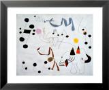 Mujer Sonando en su Evansion, c.1945 Poster von Joan Miró