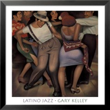 Latino Jazz Art par Gary Kelley