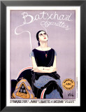 Cigarettes Batschari Affiches par Emilio Vila