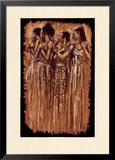 Sœurs spirituelles Poster par Monica Stewart