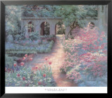 Courtyard Reprise Prints by Barbara Hails