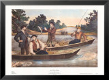 Brook Trout Fishing Art by Thomas Kelly
